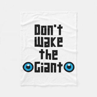 Don't wake the Giant Fleece Blanket