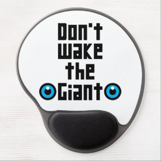Don't wake the Giant Gel Mouse Pad