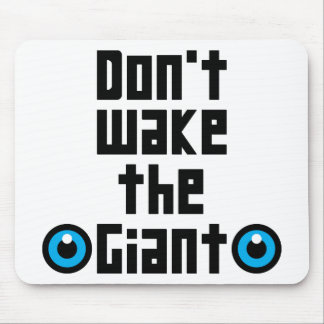 Don't wake the Giant Mouse Pad