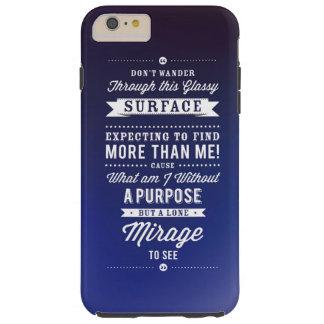 Don't Wander... Tough iPhone 6 Plus Case