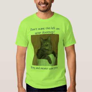 Don't want this left on your... t-shirts