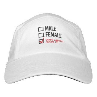Don't worry about my gender - - LGBTQ Rights - .pn Hat