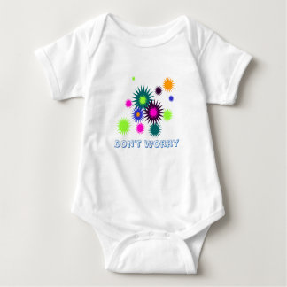 Don't Worry Baby outfit Baby Bodysuit