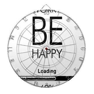 DONT WORRY BE HAPPY LOADING.ai Dartboard