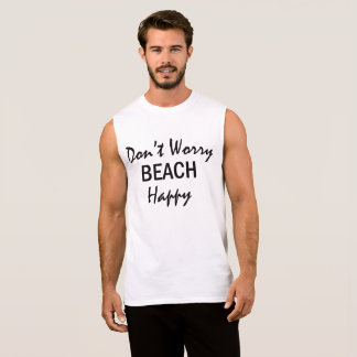 Don't Worry Beach Happy Summer Beach Tank