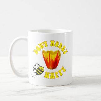 Don't Worry BEE Happy mug 🐝 Holland Queen Tulip