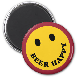 Don't Worry Beer Happy Magnet
