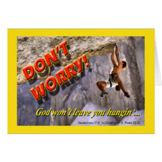 Don't Worry! Card