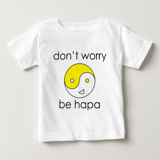 dont worry face baby T-Shirt