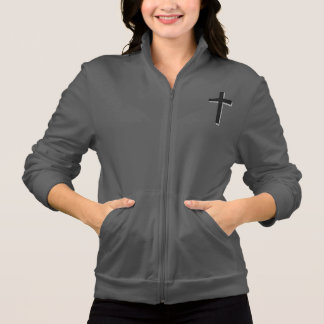 Don't Worry Jogger Jacket w/Black Cross