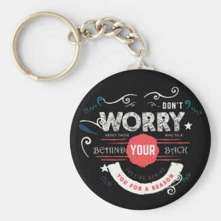 don't worry keychains