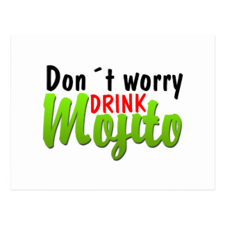 Dont Worry Postcard