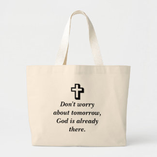 Don't Worry Tote w/Shadow cross