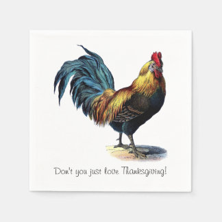 Don't You Just Love Thanksgiving! Disposable Napkins
