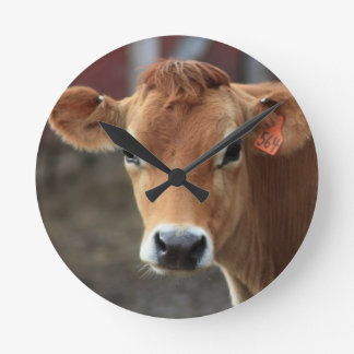 Don't you think I'm Pretty Jersey Cow Wall Clocks