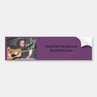 Don'tLickBumperSticker Bumper Sticker