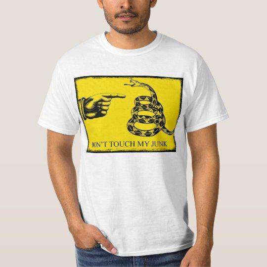 donttouchmyjunk T-Shirt