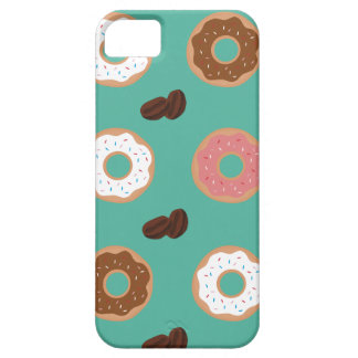 Donut and Coffee Beans iPhone 5 Cover