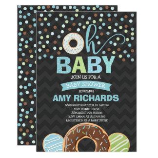 Donut Baby Shower Invitation Donut Sprinkle Shower