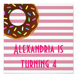 Donut Birthday Party Invite