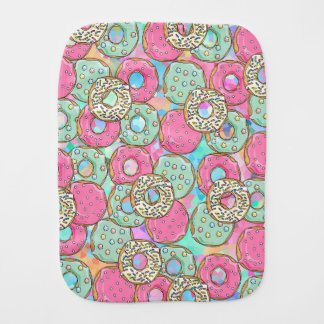 Donut Burp Cloth