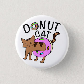 """Donut Cat"" Button"