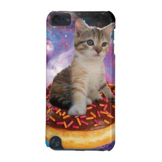 Donut cat-cat space-kitty-cute cats-pet-feline iPod touch (5th generation) case