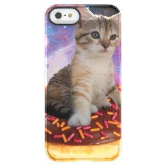 Donut cat-cat space-kitty-cute cats-pet-feline permafrost® iPhone SE/5/5s case