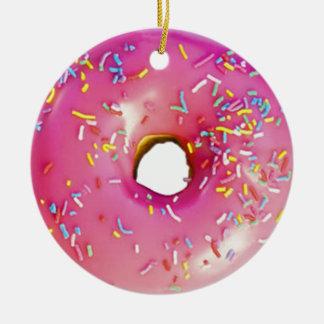 Donut Ceramic Ornament