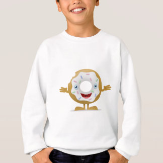 Donut Character Sweatshirt