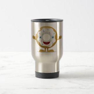 Donut Character Travel Mug