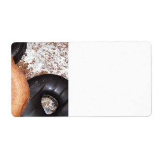 Donut Delight Shipping Label