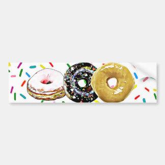 Donut Doughnuts Bumper Stickers