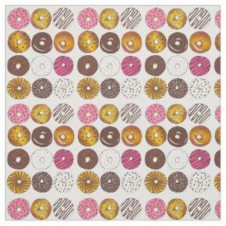 Donut Dozen Doughnuts Donuts Breakfast Food Fabric