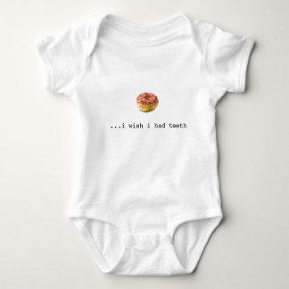 donut envy baby bodysuit