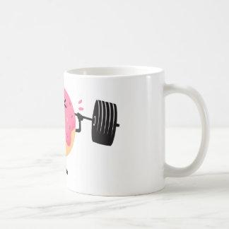 Donut fitness coffee mug