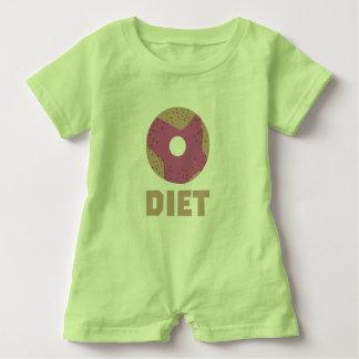 Donut for Diets Z958r Baby Romper