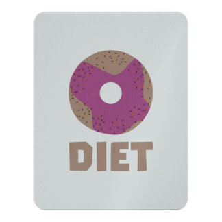 Donut for Diets Z958r Card