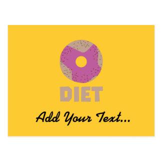 Donut for Diets Z958r Postcard
