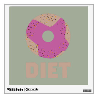 Donut for Diets Z958r Wall Decal
