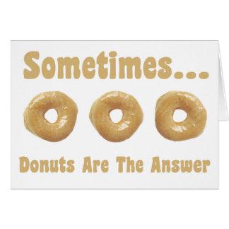 Donut Humor Card