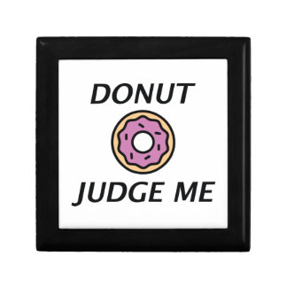 Donut Judge Me Gift Box