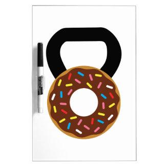 Donut Kettlebell Dry Erase Whiteboards