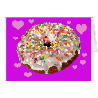 Donut Lovers Unite! Card