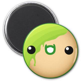 Donut Magnet Green