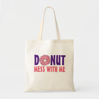 Donut Mess With Me Strawberry Doughnut Bag