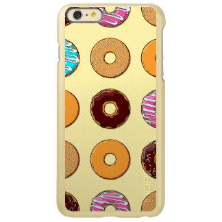 Donut Pattern on Yellow