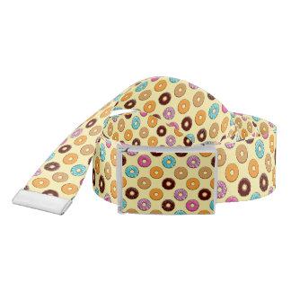 Donut Pattern on Yellow Belt