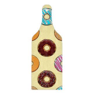 Donut Pattern on Yellow Cutting Board