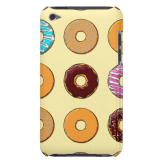 Donut Pattern on Yellow iPod Touch Case-Mate Case